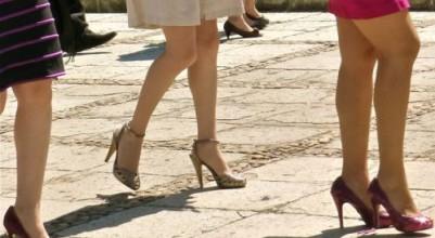 The dangers of wearing high heels